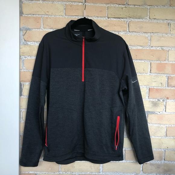 Nike Mens 1/4 Zip Sweater